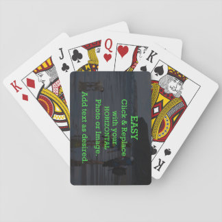 Easy Click & Replace Image to Create Your Own Playing Cards