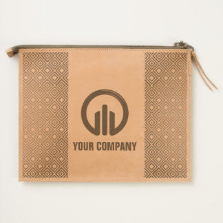 Easy customizable personal or your company design travel pouch