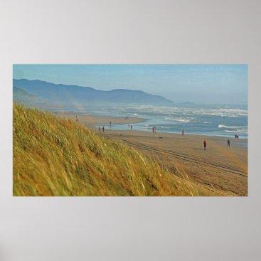 Beach Themed Easy Day at Ocean Beach Poster
