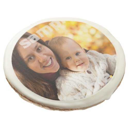 Easy design personalized custom sugar cookie