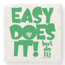 Easy Does Coffee Coaster