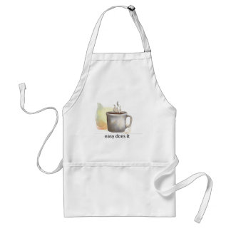"""""""easy does it"""" adult apron"""