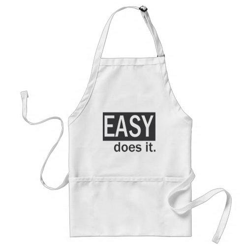 EASY does it Aprons