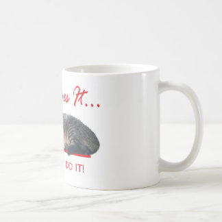 easy does it cat coffee mugs
