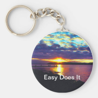 Easy Does It KeyChain