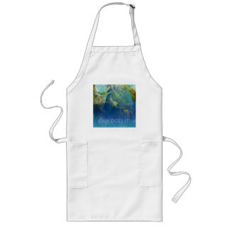 Easy Does It Koi Pond Long Apron