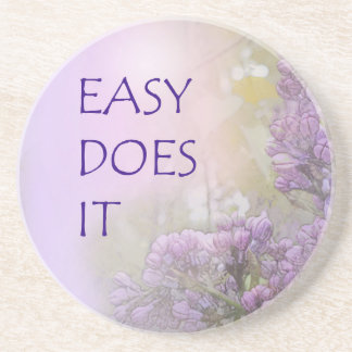 Easy Does It Lilacs Coasters