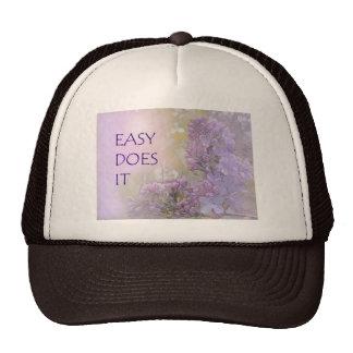 Easy Does It Lilacs Trucker Hat
