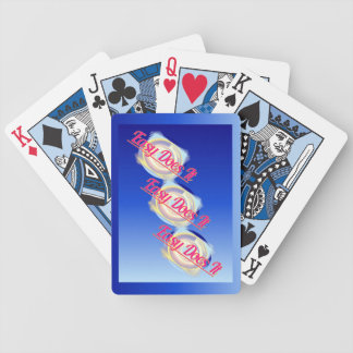 EASY DOES IT logo style Bicycle Playing Cards