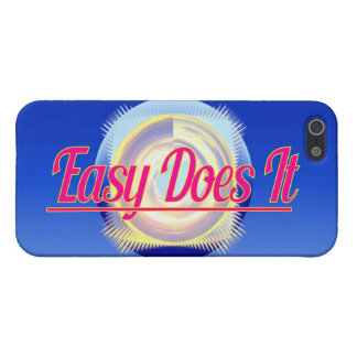 EASY DOES IT logo style Case For iPhone SE/5/5s