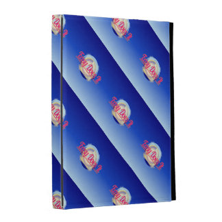 EASY DOES IT logo style iPad Folio Cases