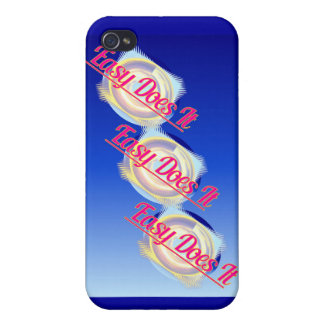EASY DOES IT logo style iPhone 4/4S Cover