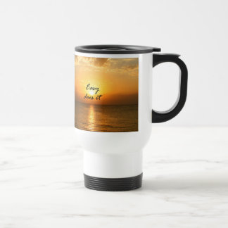 Easy Does It 15 Oz Stainless Steel Travel Mug