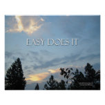 Easy Does It Poster