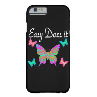 EASY DOES IT PRETTY BUTTERFLY DESIGN BARELY THERE iPhone 6 CASE