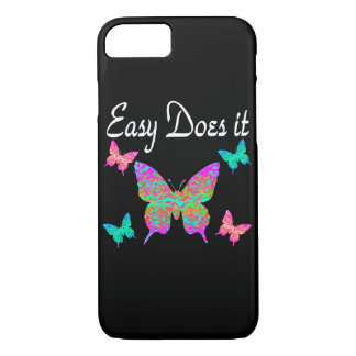 EASY DOES IT PRETTY BUTTERFLY DESIGN iPhone 7 CASE