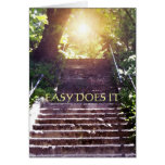 Easy Does It Steps Card