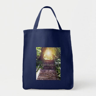 Easy Does It Steps Tote Bag
