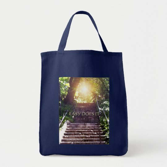 Easy Does It Steps Totebags Tote Bag