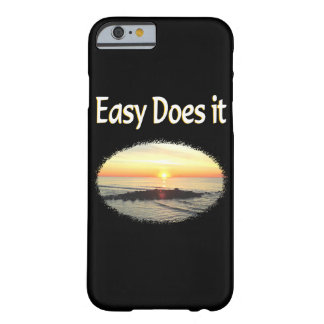 EASY DOES IT SUNRISE DESIGN BARELY THERE iPhone 6 CASE
