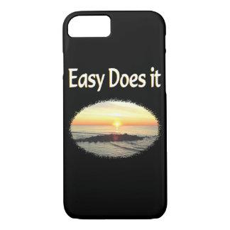 EASY DOES IT SUNRISE DESIGN iPhone 7 CASE