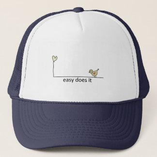 easy does it trucker hat