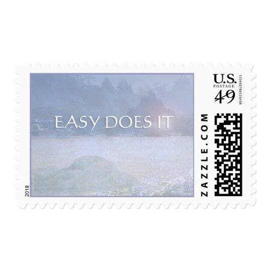 Easy Does It Water, Rocks, Trees Postage