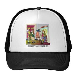 Easy For You To Say Give Me Liberty or Death Mesh Hat