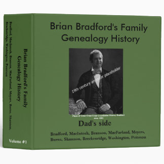 Easy Genealogy History Binder - Dad's side