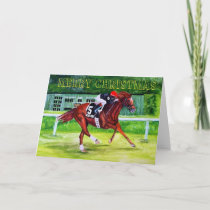 Easy Goer Christmas Holiday Card