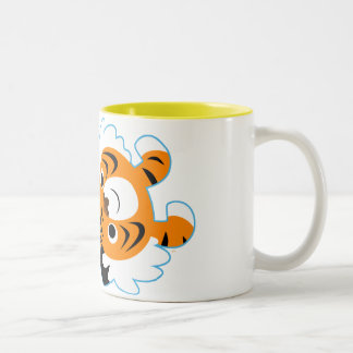 Easy-Going Cute Cartoon Tiger Mug