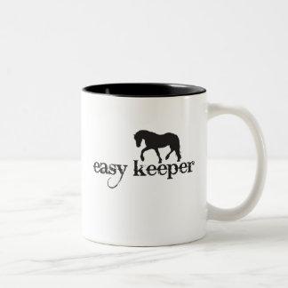 """Easy Keeper"" Horse Mug"