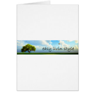 Easy Livin Style Collection Card