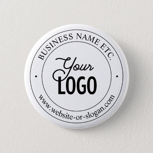 Easy Logo Replacement  Customizable Text  White Button