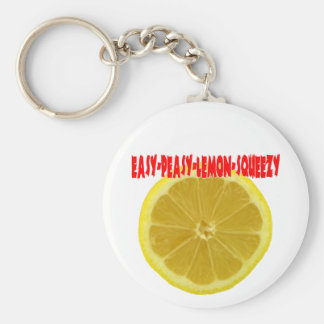 Easy-Peasy-Lemon-Squeezy Keychain