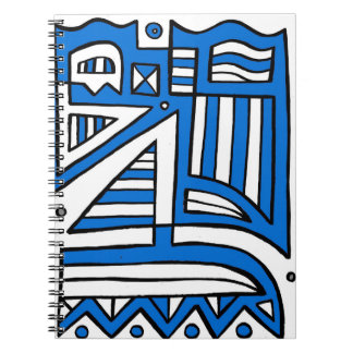 Easy Powerful Marvelous Motivating Spiral Notebook