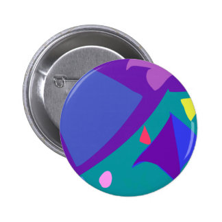 Easy Relax Space Organic Bliss Meditation100 Pinback Button