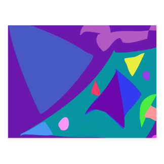 Easy Relax Space Organic Bliss Meditation100 Postcard