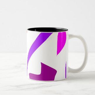 Easy Relax Space Organic Bliss Meditation44 Two-Tone Coffee Mug