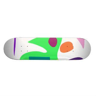 Easy Relax Space Organic Bliss Meditation4 Custom Skateboard