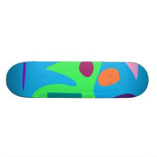 Easy Relax Space Organic Bliss Meditation5 Skate Board Deck