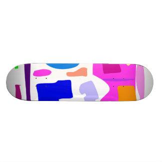 Easy Relax Space Organic Bliss Meditation69 Custom Skateboard