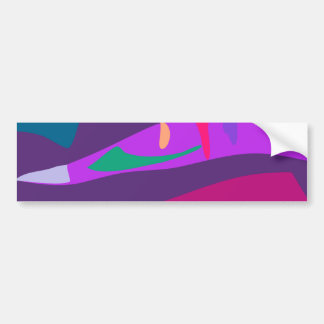 Easy Relax Space Organic Bliss Meditation85 Car Bumper Sticker