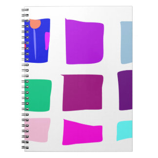Easy Relax Space Organic Bliss Meditation94 Spiral Notebook