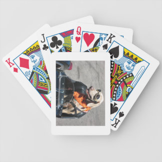 Easy rider bicycle playing cards