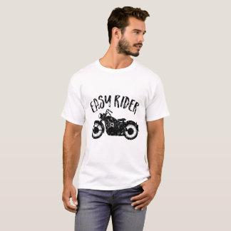 Easy Rider Black Print T-Shirt