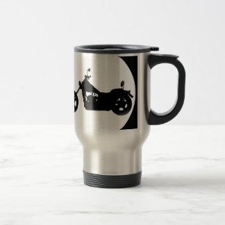 """""""Easy Rider"""" 15 Oz Stainless Steel Travel Mug"""