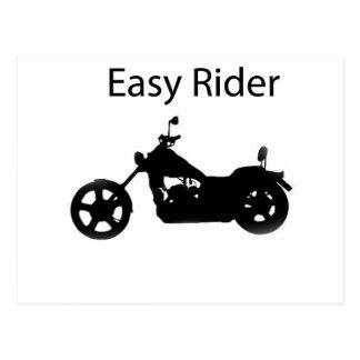 Easy rider postcard