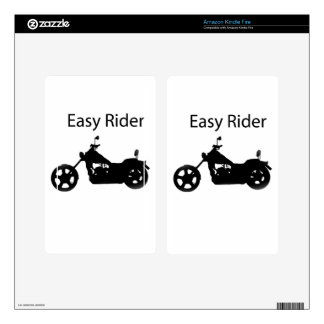 Easy rider skins for kindle fire