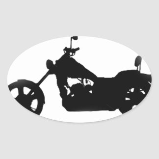 """Easy Rider"" Oval Sticker"